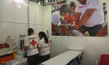 Cruz Roja contará con más de diez personas en su dispositivo sanitario