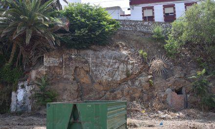 García, convencido de que los vecinos de Alcalá del Valle encontrarán solución con la obra de Tragsa