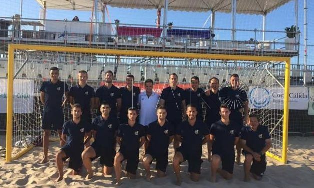 El árbitro ceutí Rafa Jiménez, presente en la Liga Nacional y en el Campeonato de España de fútbol playa