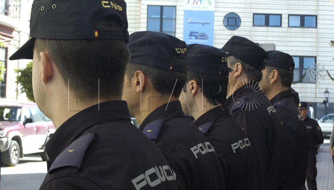 Los 30 alumnos en prácticas acuden hoy a la Jefatura Superior de Policía