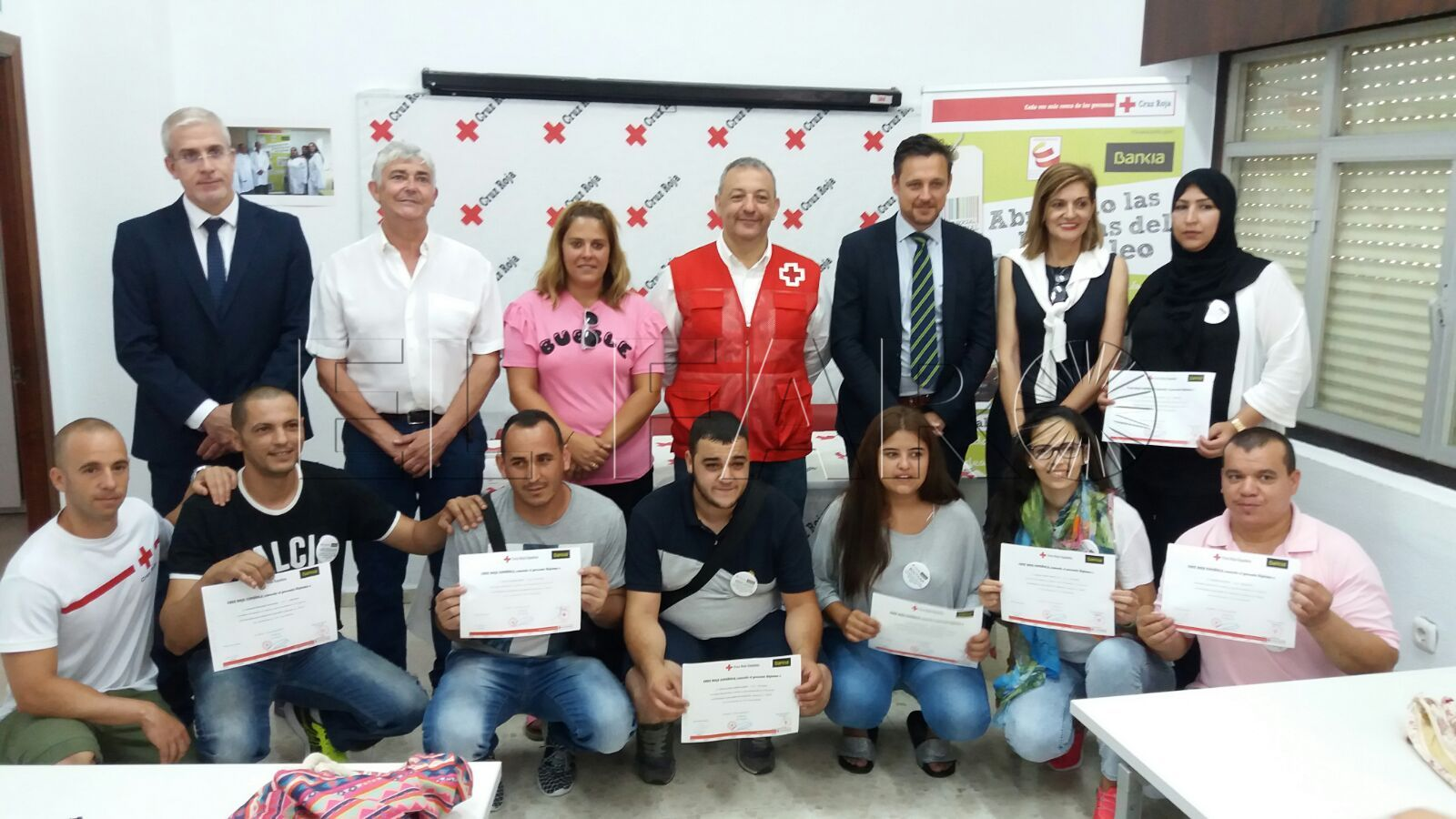 Cruz Roja forma a nuevos profesionales del almacenamiento