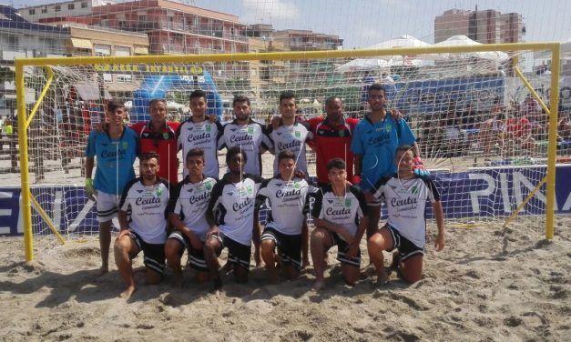 Ceuta cae ante Comunidad Valenciana y finaliza su participación en el Nacional de Fútbol Playa