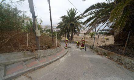 Obimace trabaja ya en Alcalá del Valle para permitir el paso de vehículos de emergencia