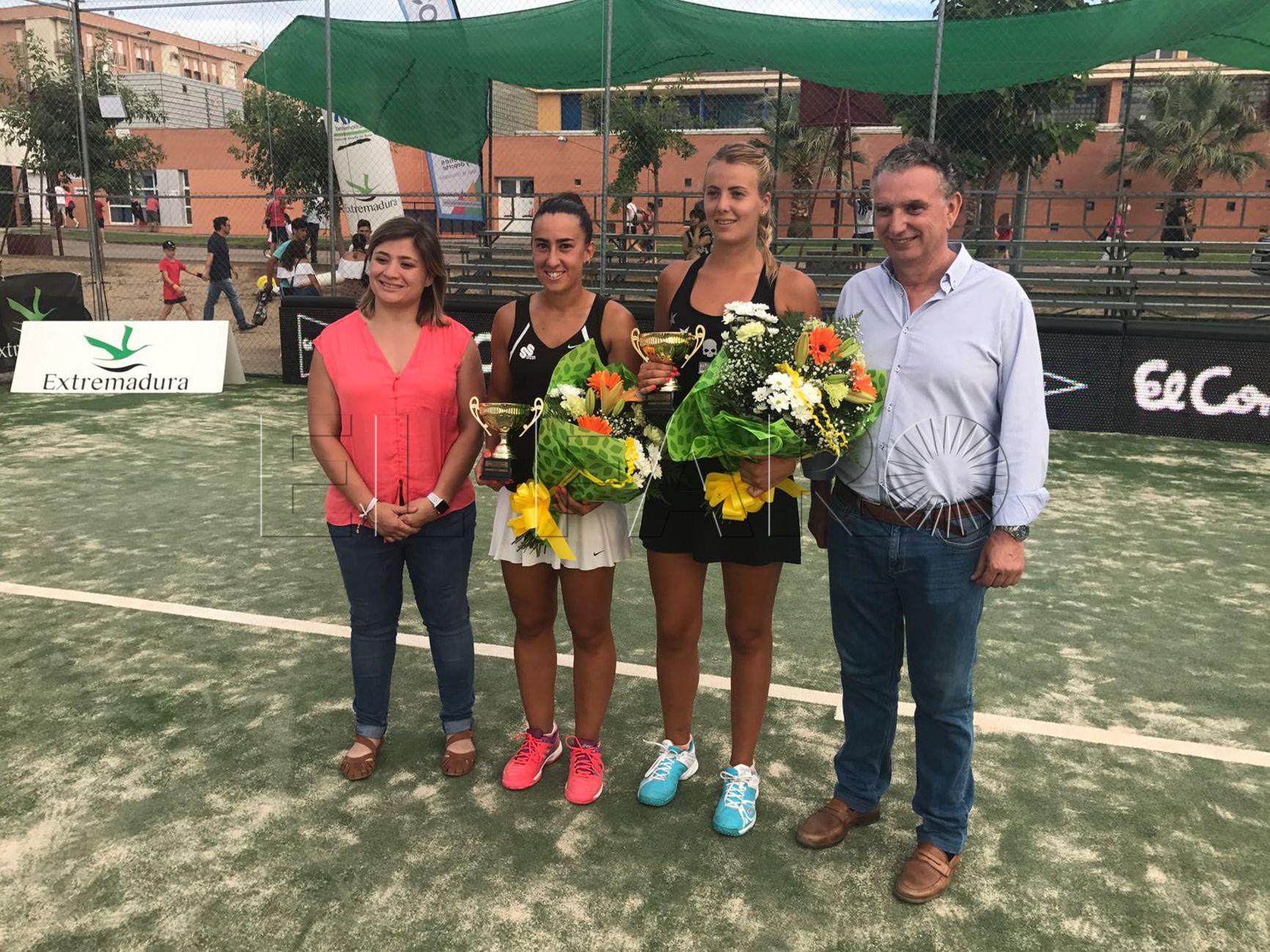 Parres y Masini se llevan el título en dobles en el torneo de Don Benito