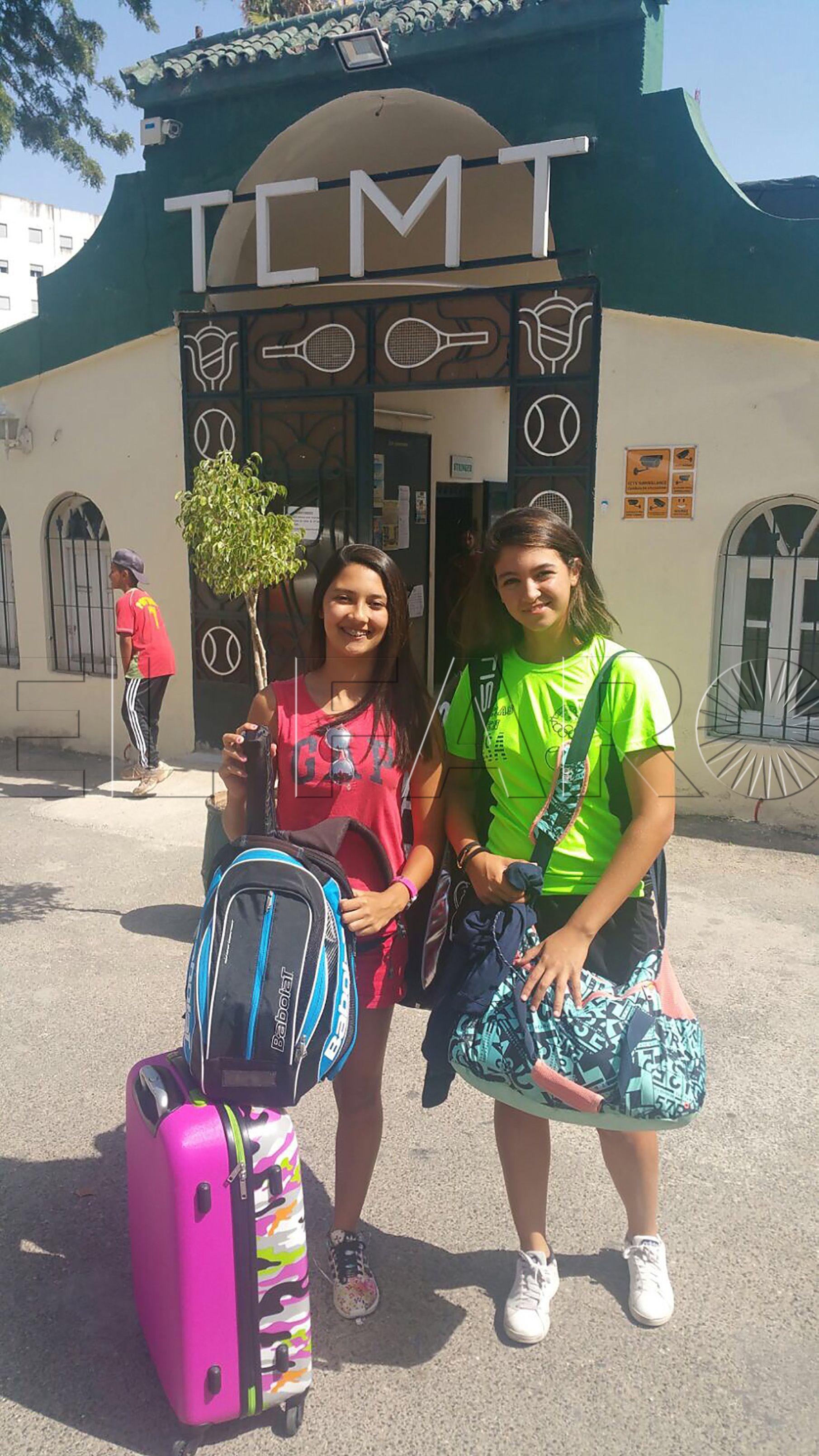 Dos tenistas ceutíes en un torneo marroquí