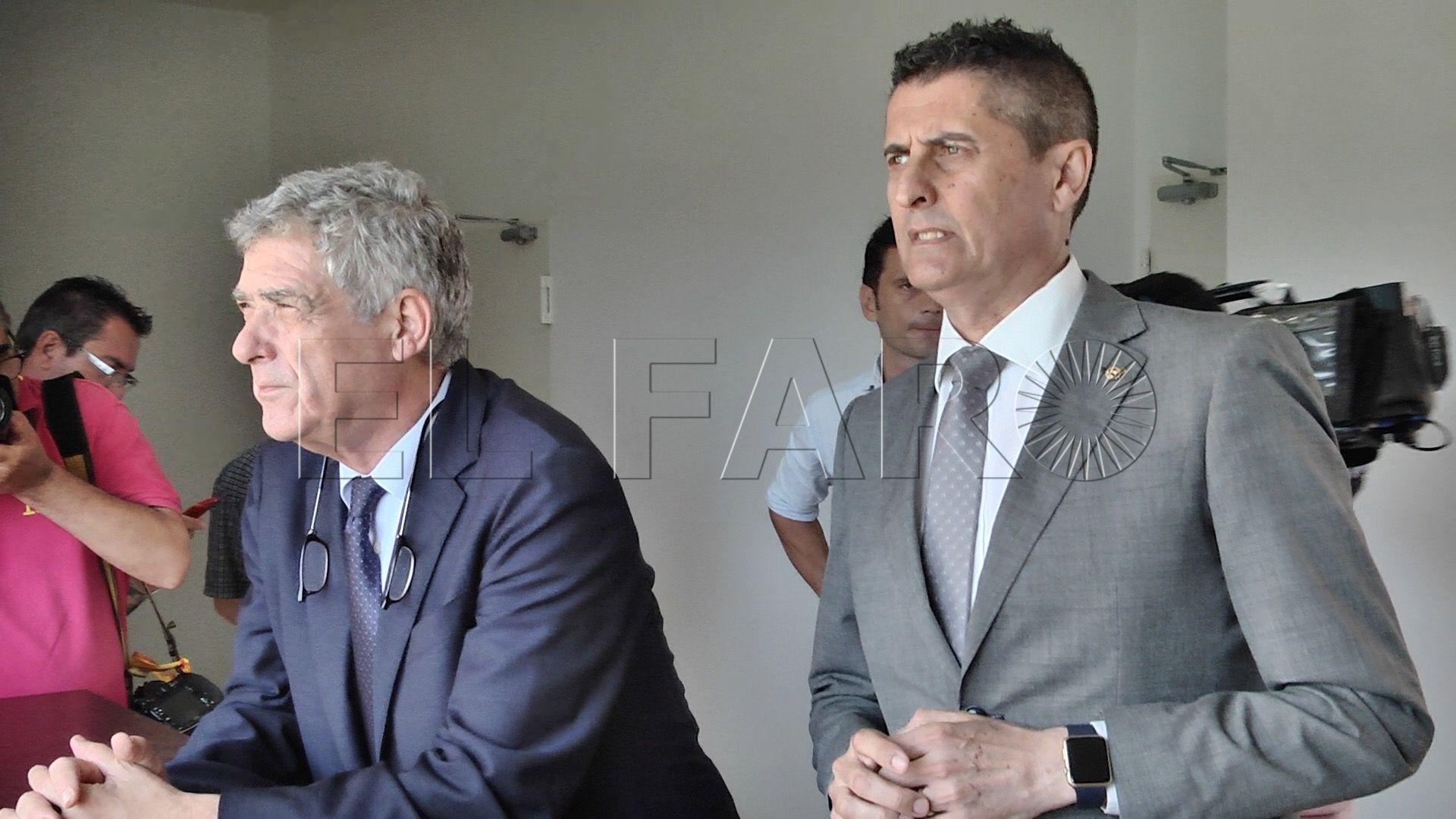 Villar se molestó con Gaona el pasado mes de mayo por no firmar una carta dirigida al TAD
