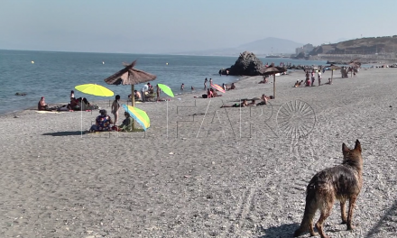 La Ciudad extraerá arena de la playa del Tarajal para aportarla a la de la Almadraba
