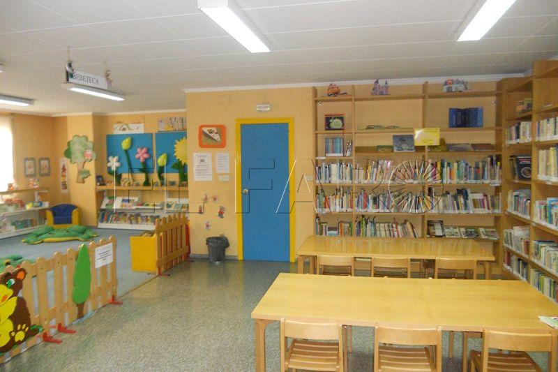 Centros con bibliotecas