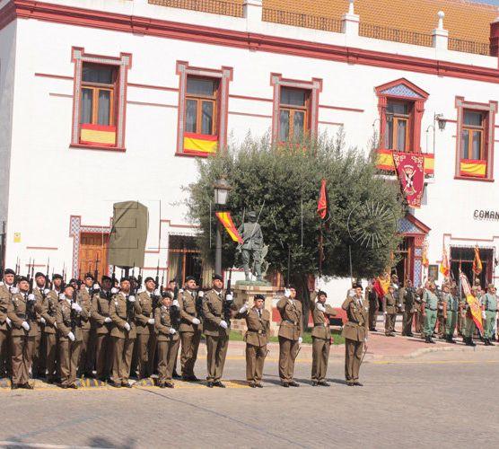 Ceuta, la región con más densidad de militares por habitante