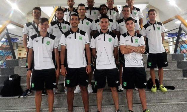 En busca de un buen puesto para Ceuta en el Nacional de Fútbol Playa
