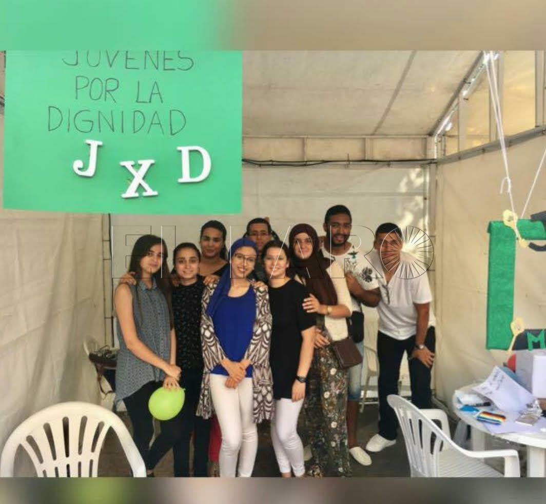 Jóvenes por la Dignidad celebran el 'Día Internacional de Nelsón Mandela'