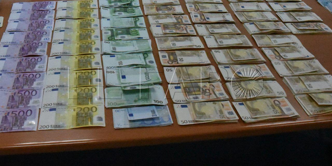 Interceptados 31.000 euros sin declarar en la frontera en 48 horas
