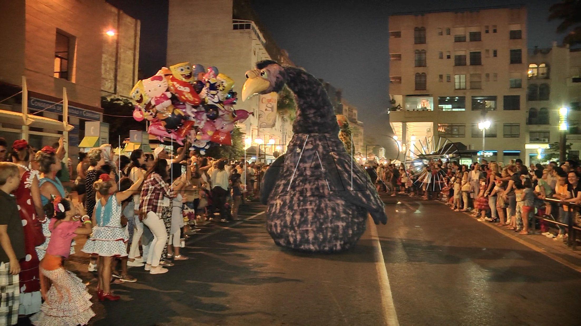 La gran Cabalgata sale a la calle