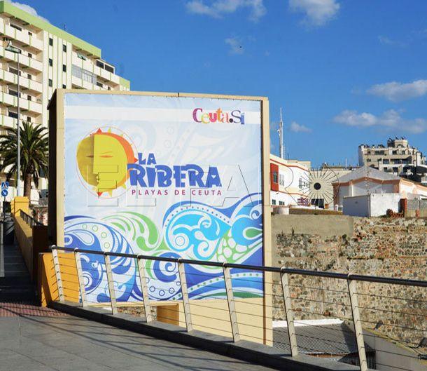 El ascensor de la playa de la Ribera de nuevo en funcionamiento
