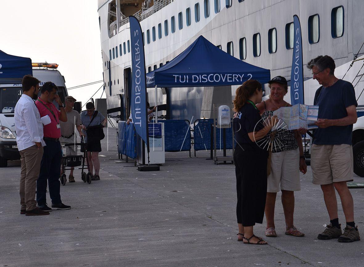 La Autoridad Portuaria asegura que solo el 6% de los cruceristas viaja a Marruecos
