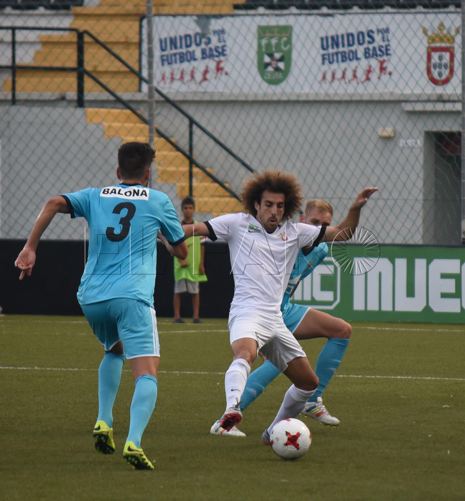 El Ceuta jugará mañana frente al Nadi Fnideq