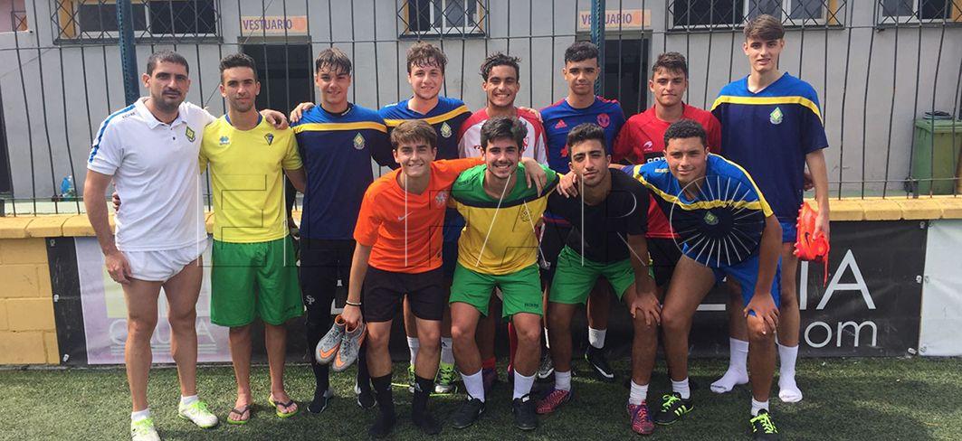 La Gimnástica Ceuta juega ante un combinado sub-23