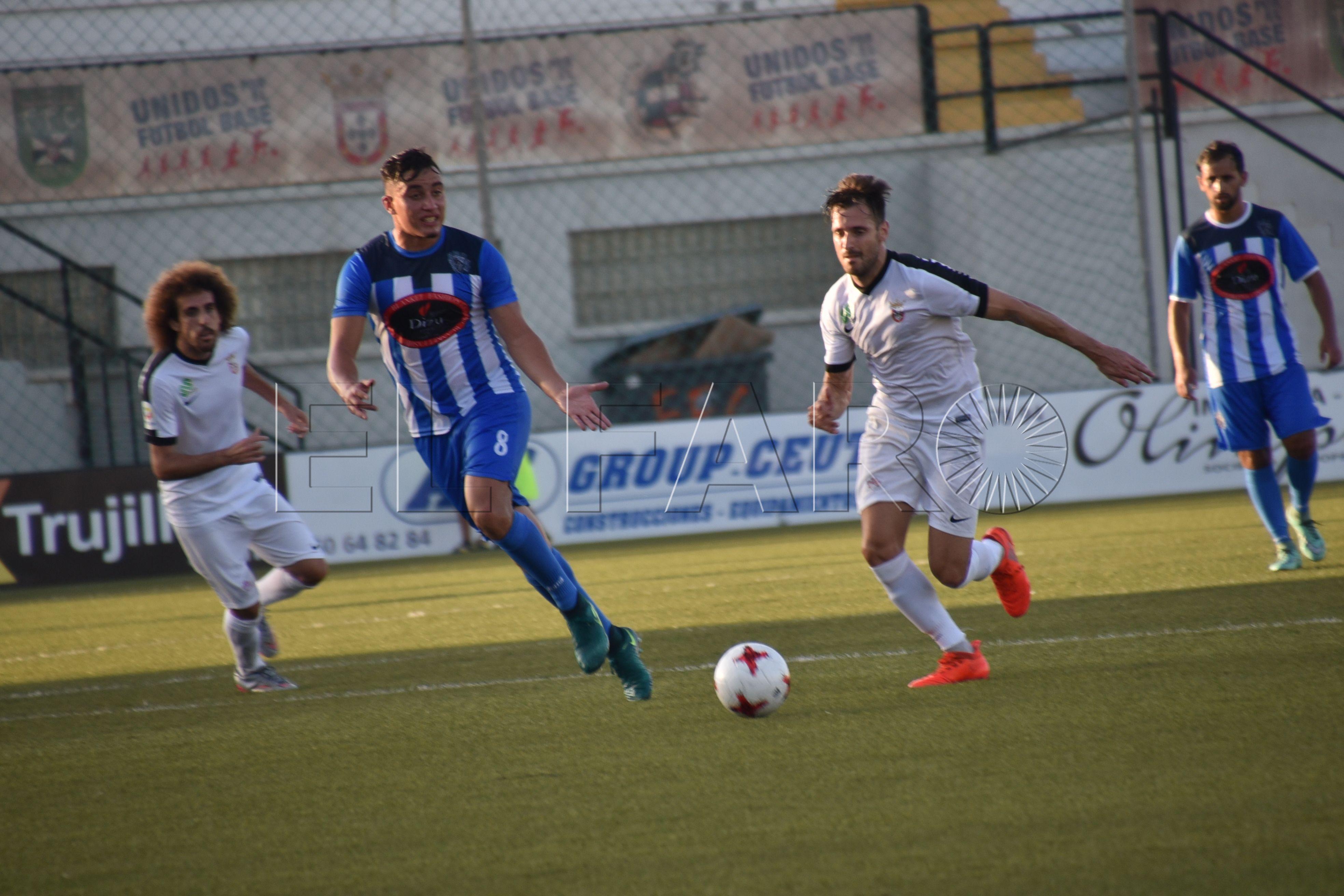 Victoria del Ceuta por 4-1 ante el Nadi Fnideq