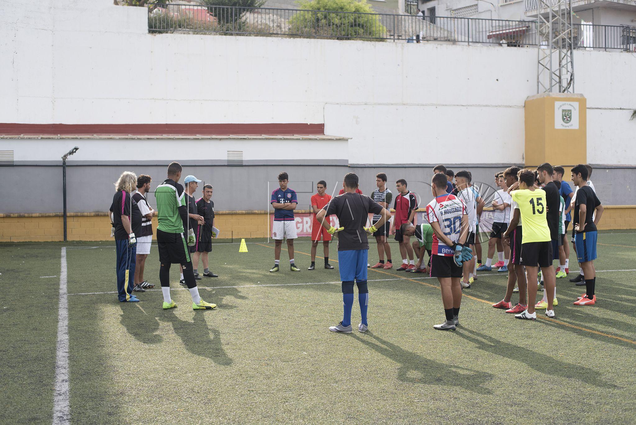El Sporting Ceuta afina con varios amistosos