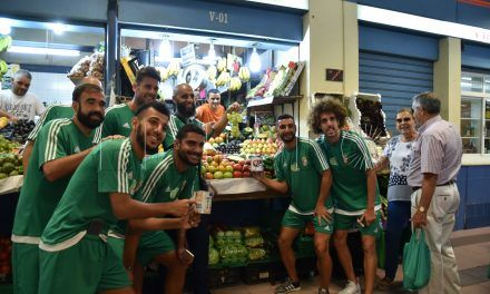 La plantilla del Ceuta FC busca nuevos abonados