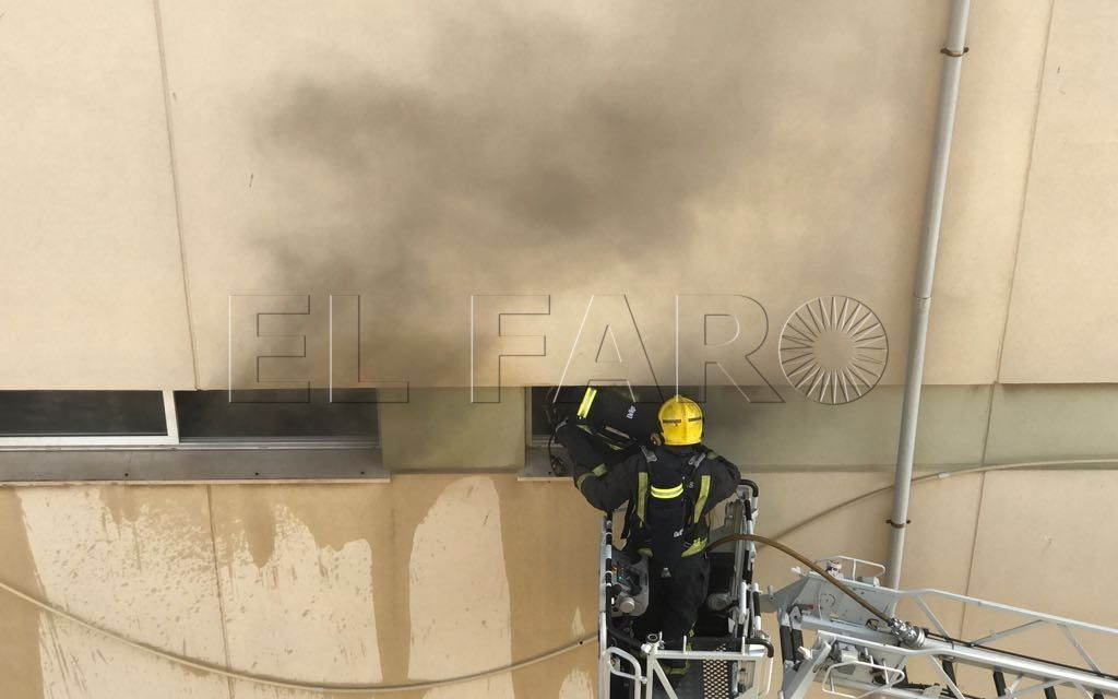 Incendio en el CEIP Ortega y Gasset