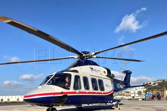 Más de 2.500 personas utilizaron el helipuerto durante el mes de julio