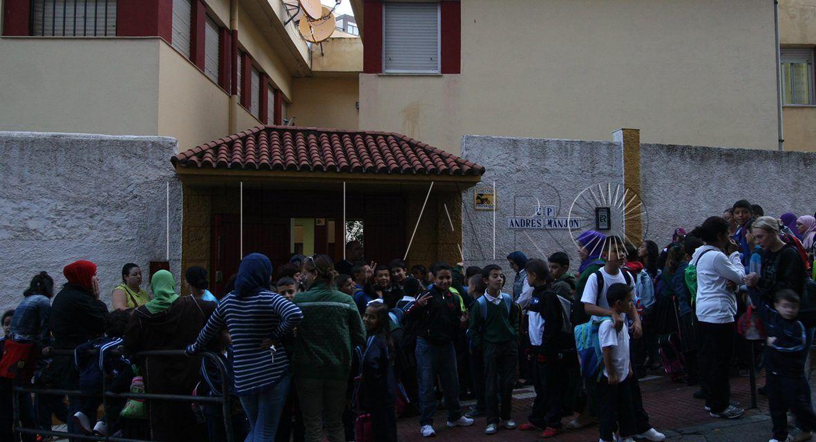 Un grupo de Infantil del 'Andrés Manjón' no se incorpora por falta de un profesor
