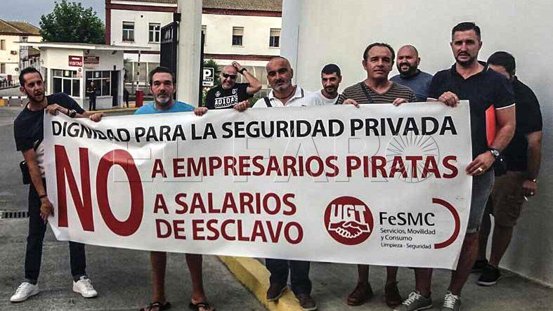 """UGT denuncia a 'Marsegur' por """"impago de salarios y fraude a la Seguridad Social por infracotización"""""""