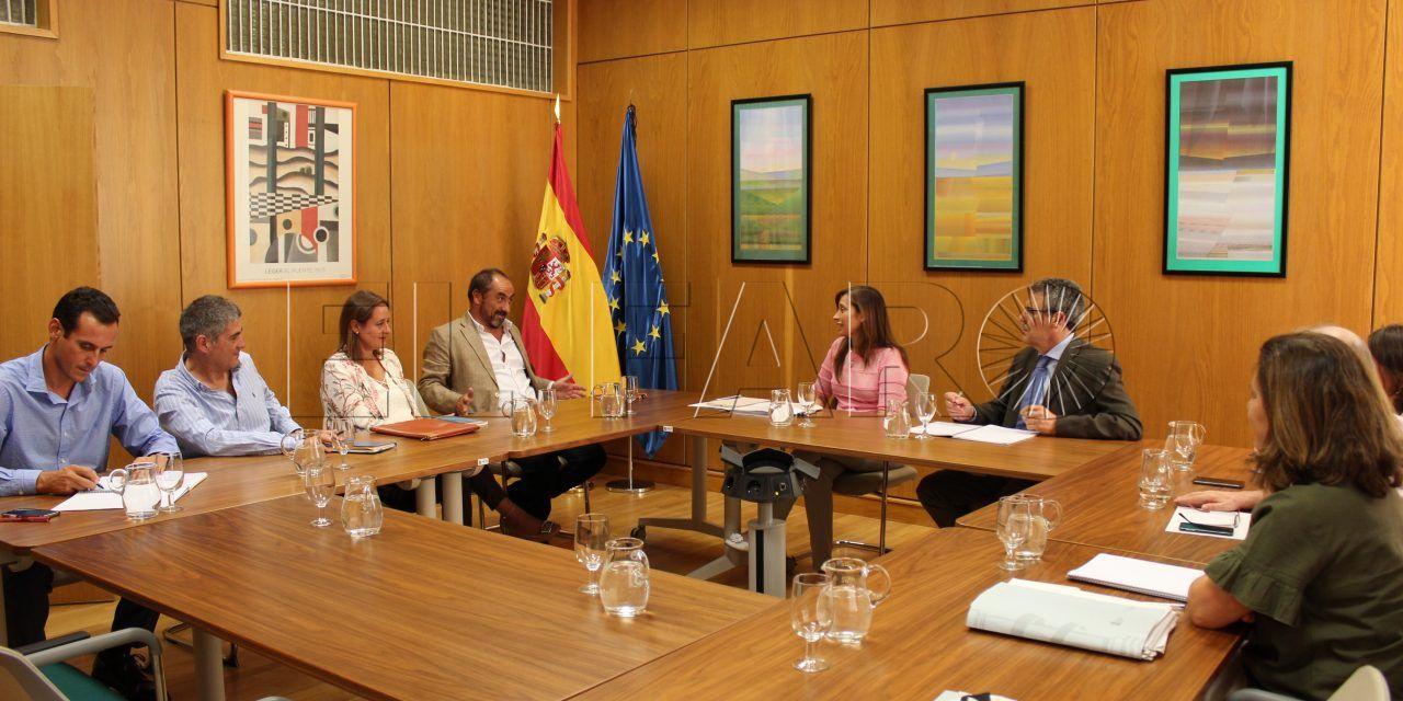 La directora general del Agua se reúne con el gerente de Acemsa en el marco del debate para alcanzar un Pacto Nacional