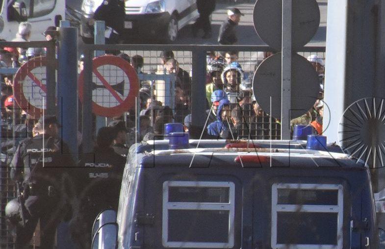 La ARP pide un complemento de peligrosidad para funcionarios con destino en las fronteras de Ceuta y Melilla