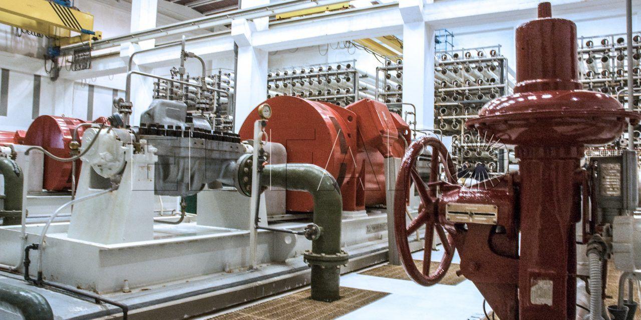 El gasto en desalación de agua se dispara hasta 830.000 euros al mes