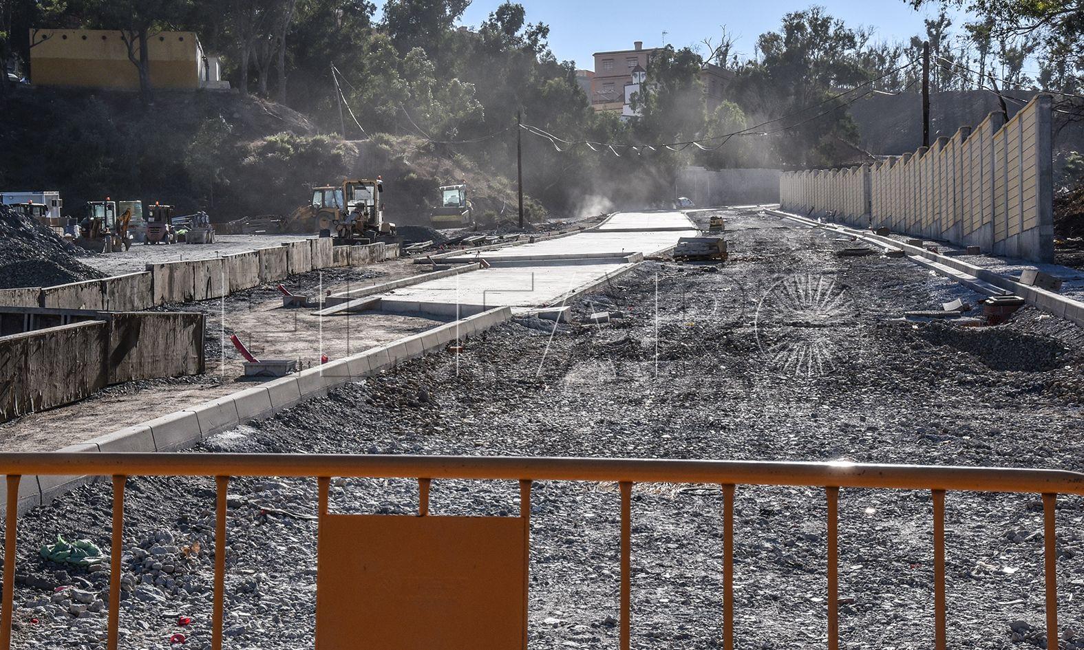 La actuación en el vial del Puente Quemadero avanza a buen ritmo