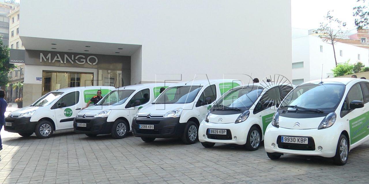 La Ciudad apuesta por la movilidad sostenible con la adquisición de cinco vehículos eléctricos