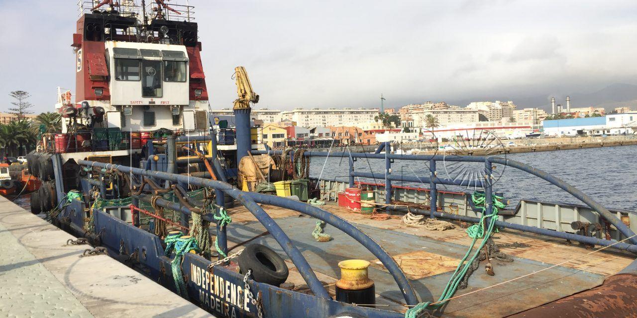 El Puerto está a la espera de instrucciones del juzgado para subastar un buque embargado