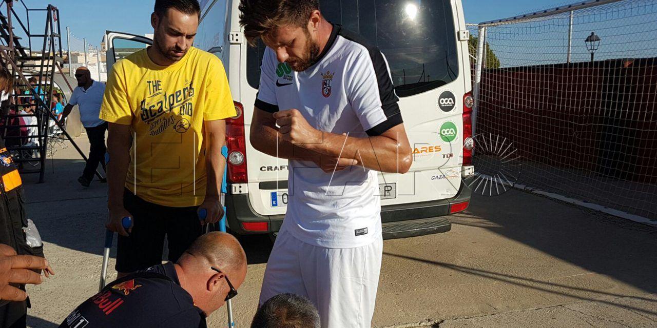 El central Benítez seguirá en el Ceuta FC