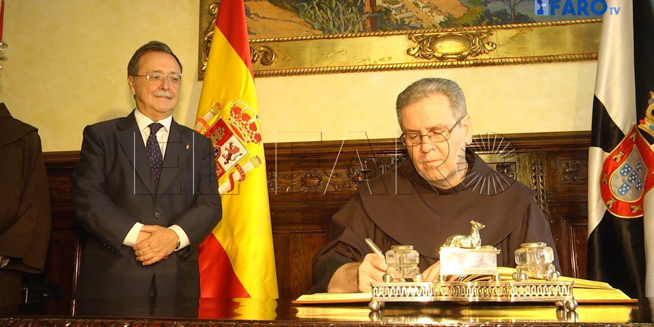 Vivas recibe a fray Francesco Patton, custodio de Tierra Santa