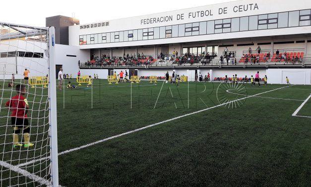 Continúa la fiesta del fútbol base en la 'Ciudad del Fútbol' de Ceuta'