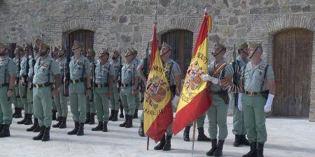 La Legión renovó su bandera   El Faro de Ceuta