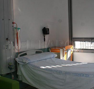 La estancia hospitalaria de los ceutíes dura cinco días de media