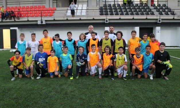 Primera sesión de entrenamiento de la Selección de Ceuta Sub-12 de Fútbol 8