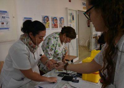 El Ingesa informa sobre la diabetes con mesas en varios centros