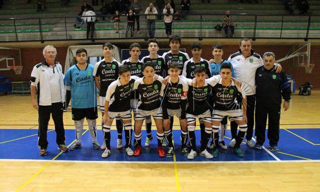 Empate insuficiente de la selección de Ceuta frente a Murcia