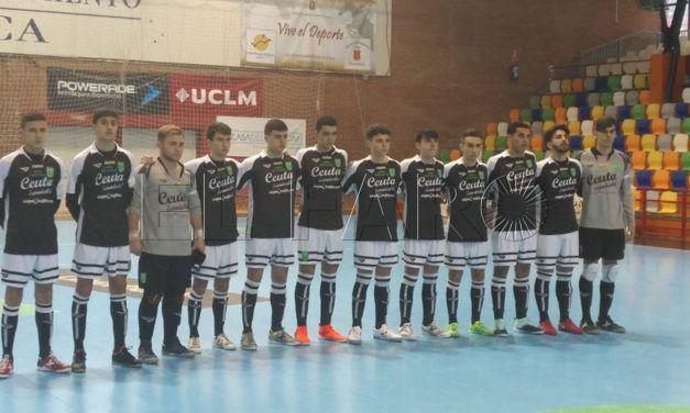 El Ceuta pierde, repite resultado (2-8) y queda eliminado