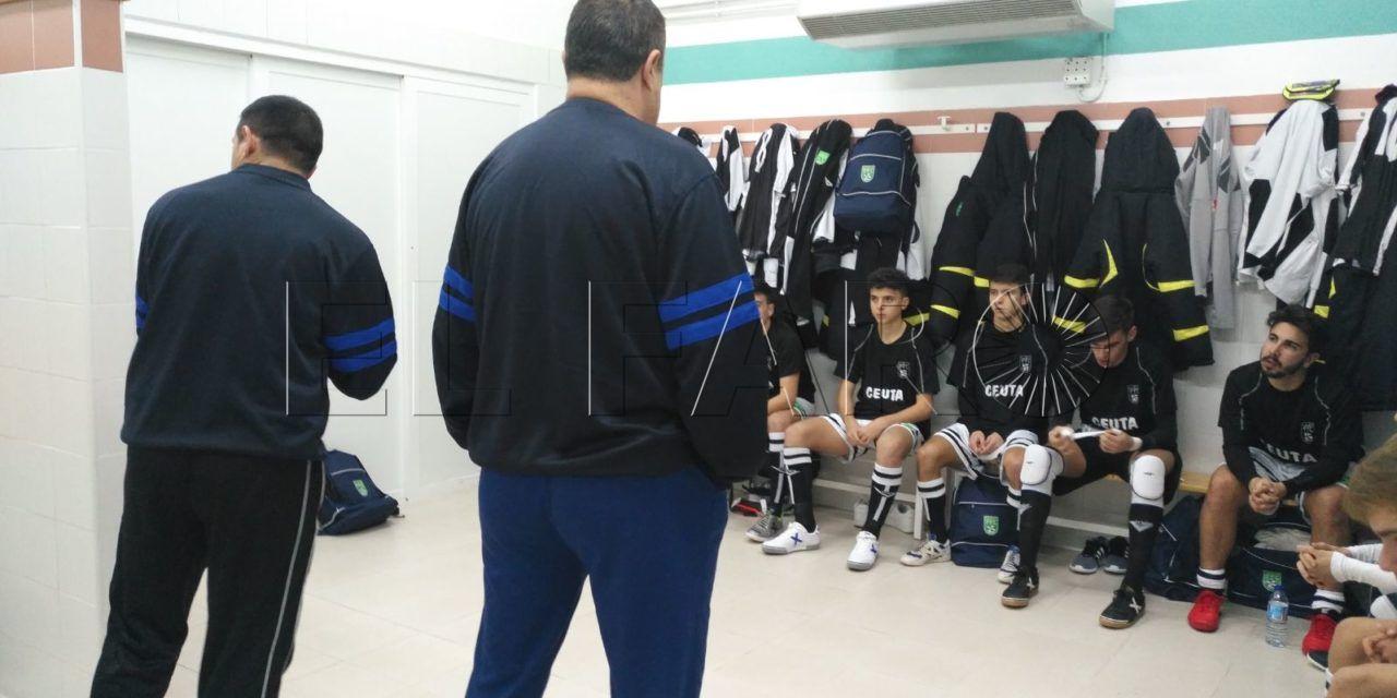 Derrota clara por 2-8 de Ceuta ante Galicia en el debut