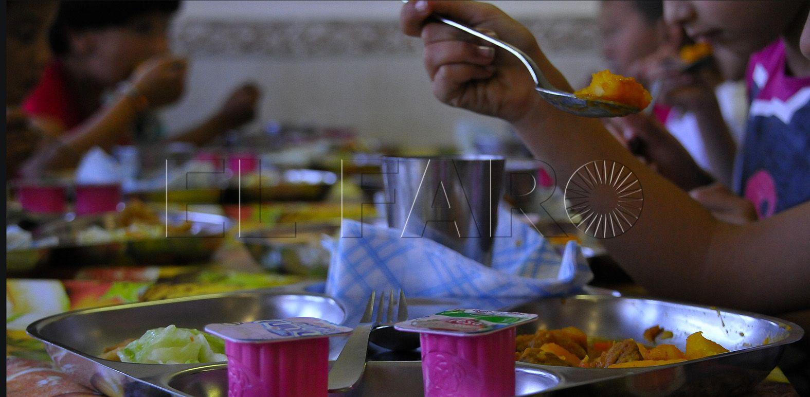 El MECD no prevé adelantar la convocatoria de becas de comedor