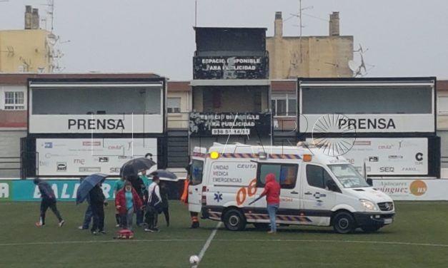El Polillas se desmarca de la denuncia de MDyC tras el desvanecimiento de una futbolista