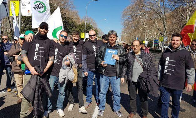 Los sindicatos de prisiones se suman a la manifestación convocada en Madrid