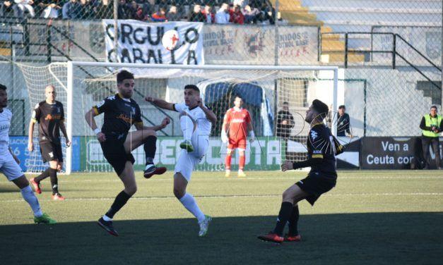 El Ceuta logra la victoria y se pone tercero