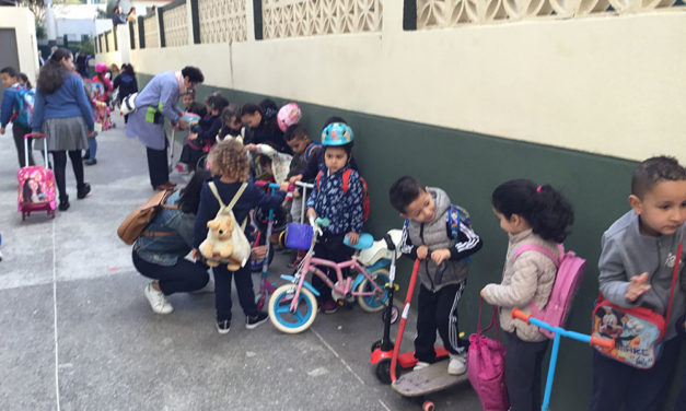 FOTOS | Programa de Educación Vial y Movilidad Sostenible en el colegio García Lorca