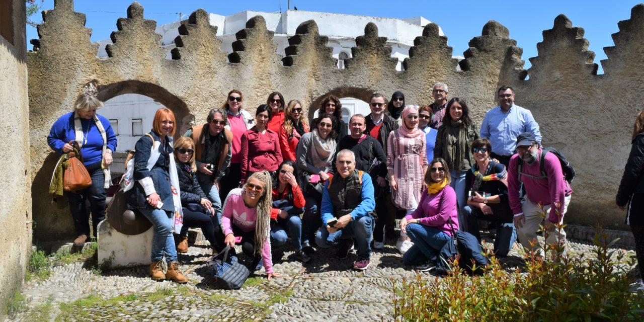 La Escuela Oficial de Idiomas de Ceuta, de excursión por Tetuán